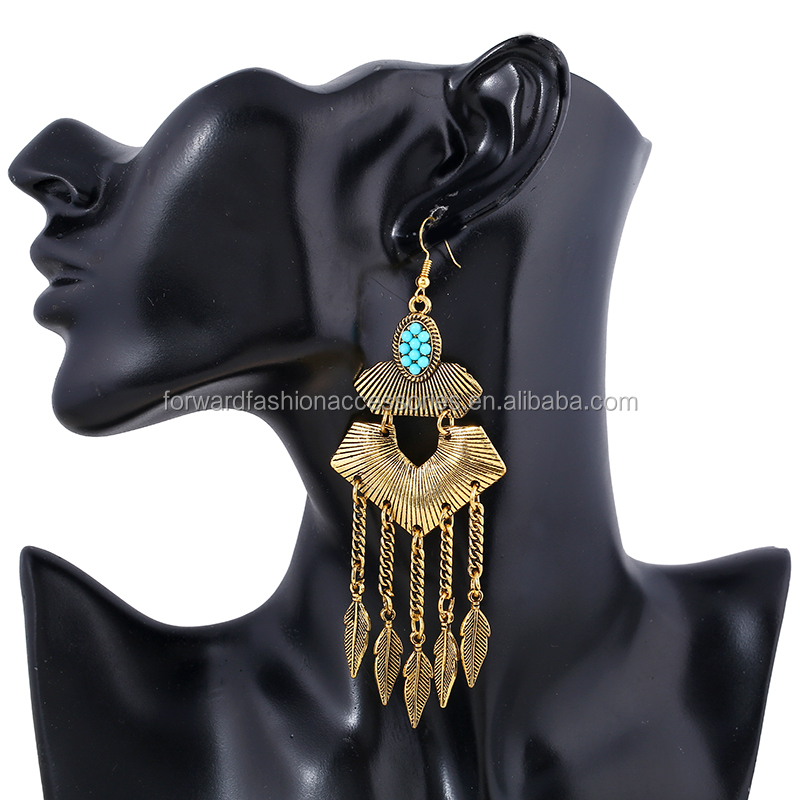 3d8ca3e4e3 China ethnic tribal gold earrings wholesale 🇨🇳 - Alibaba