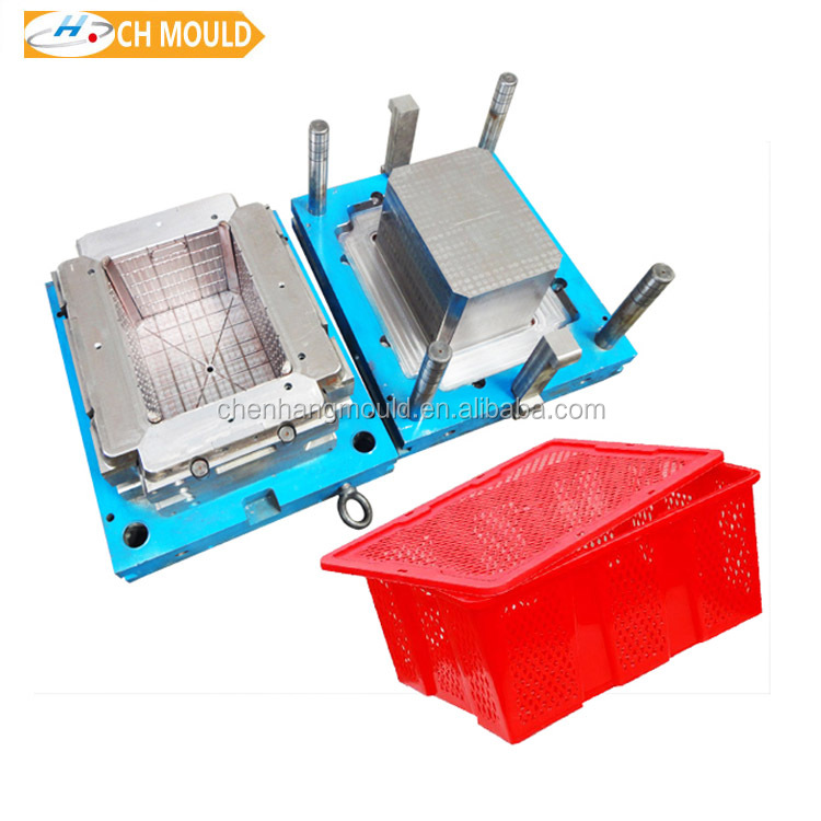 2017 simple and easy plastic box mould storage basket