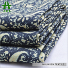 Mulinsen Textile Traditional Pattern Paisley Printed Cotton Spandex Sateen Bangladesh Fabric