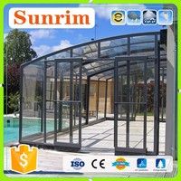 factory design aluminum sun room 3 season room vs screened porch