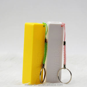 polymer with led flashlight keychain solar charger wrist band power bank
