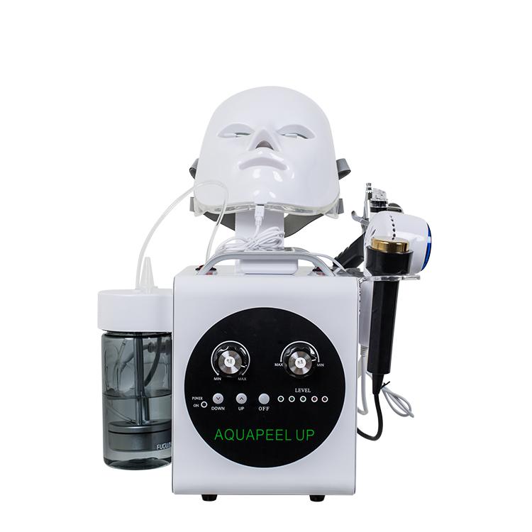 強力な圧力水酸素ジェットピール専門の顔の若返り酸素髪バー