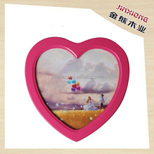 2015 new design heart MDF love photo frame