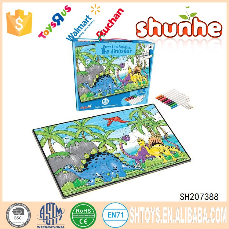 Kids Toy Paper Board Game Puzzle Jigsaw