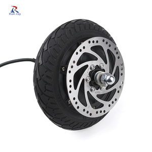 8Inch 350W 24V 36V 48V Electric Scooter/Bicycle E-Bike Tire Part Brushless Wheel Hub Motor