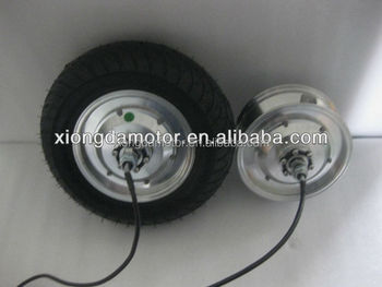 36v 350w Electric Scooter Brushless Dc Wheel Hub Motor With Tubeless Tyre -  Buy Electric Scooter Motor,36v Electric Scooter Motor,350w Electric