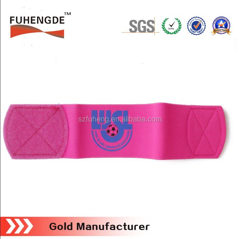 outdoor sports wear safety reflective elastic velcor arm band