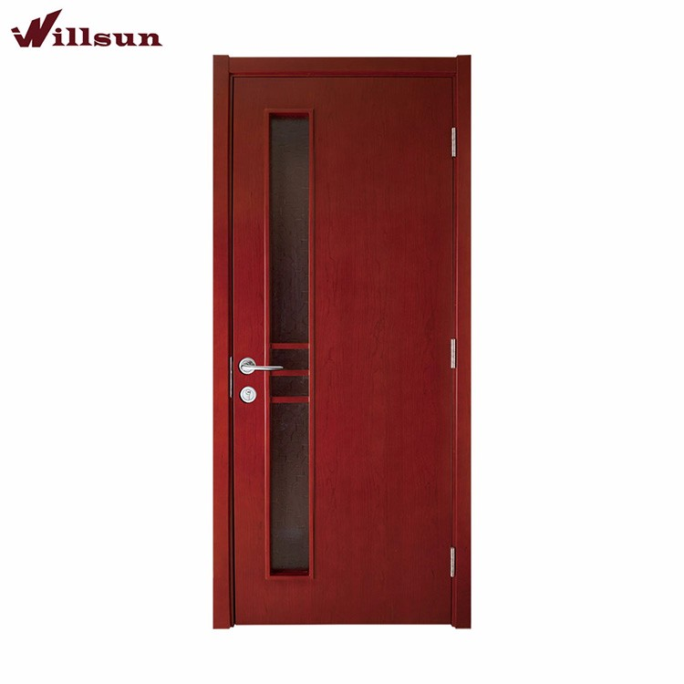 Flush design hotel room door cheap hollow core interior for Cheap interior doors