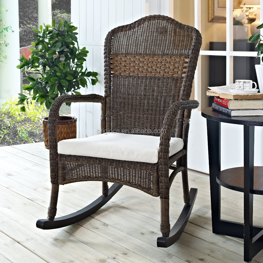 Wicker Outdoor Rocking Chair, Wicker Outdoor Rocking Chair Suppliers And  Manufacturers At Alibaba.com
