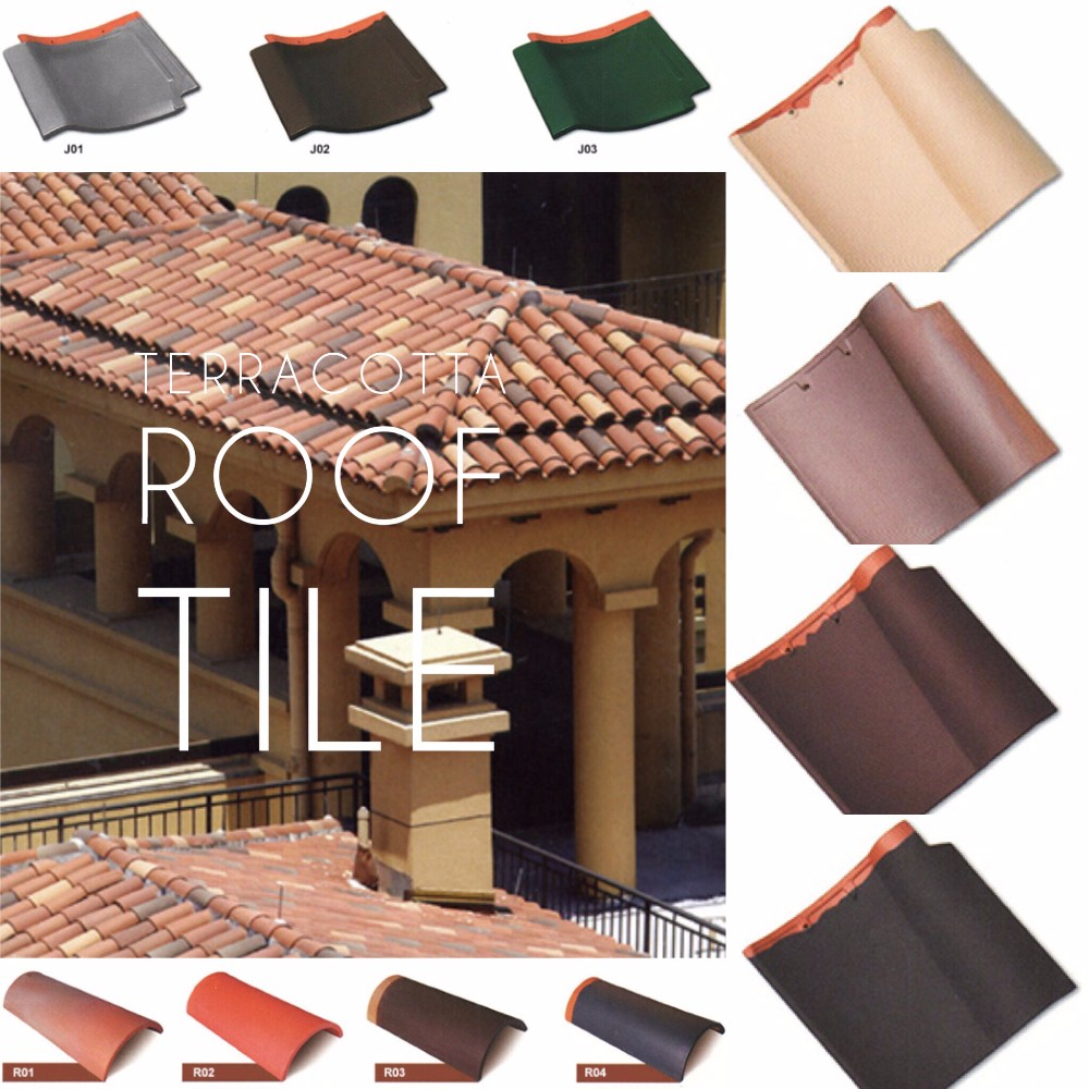 Old Special Style Terracotta Roof Tile