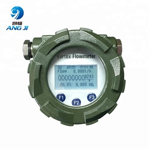 RS485 4-20mA flow indicator vortex flow meters