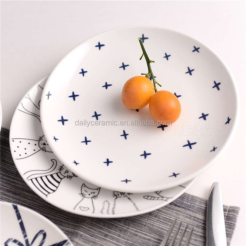 ceramic microwave safe dish ceramic plate dishwasher safe plate manufacturer & Ceramic Microwave Safe Dish Ceramic Plate Dishwasher Safe Plate ...