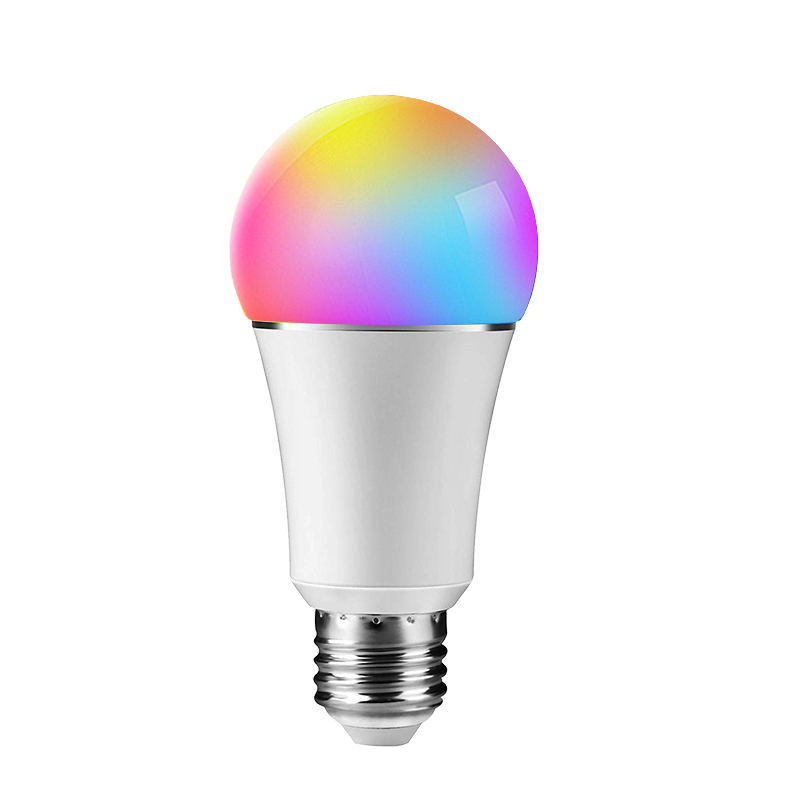 Amazon best selling RGB+W+C E26 E27 B22 E14 tuya wifi <strong>smart</strong> <strong>led</strong> light <strong>bulbs</strong>