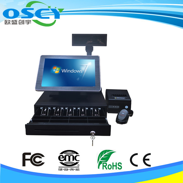 Windows 8/XP/Vista/7. POS Ready, Linux POS System all in one