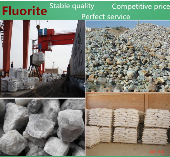 Mineral resources CaF2 65% fluorspar/fluorspar prices/rough Fluorite