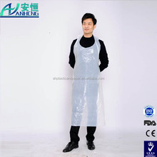 High Quality Disposable PE Apron 2015 , disposable surgical apron