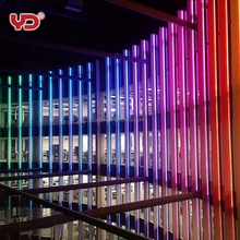 outdoor facade outline led building lighting decoration with led linear wall washer lights