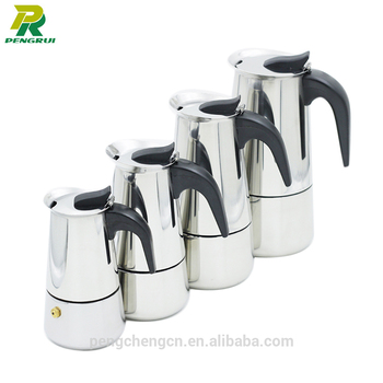Stainless Steel 2/4/6/9 Cups Commercial Coffee Maker - Buy ...