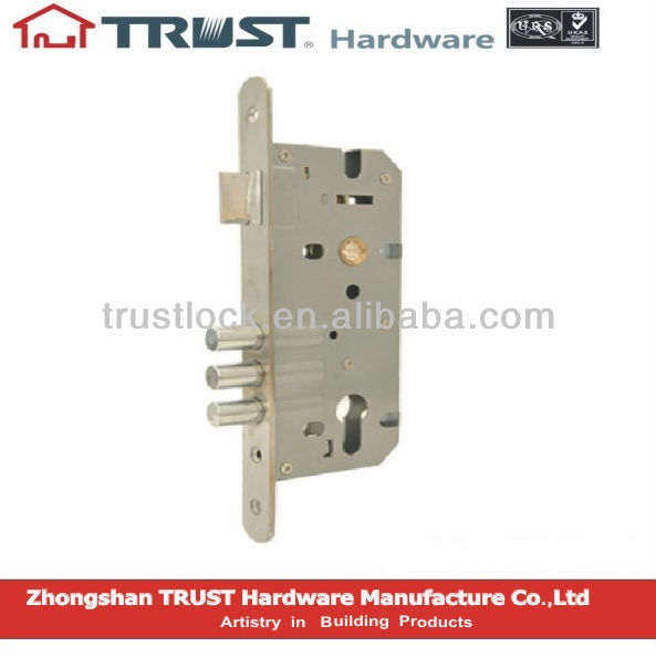 TRUST 85X45mm 3 steel bolt euro mortise door lock cylinder