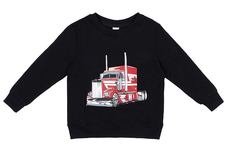 Sociala Little Boy's Hoodies and Sweatshirts Hooded Sweatshirt 100% Cotton