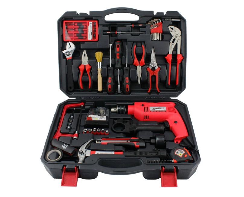 71 PCS Household Tools Set Packs household drill Hardware