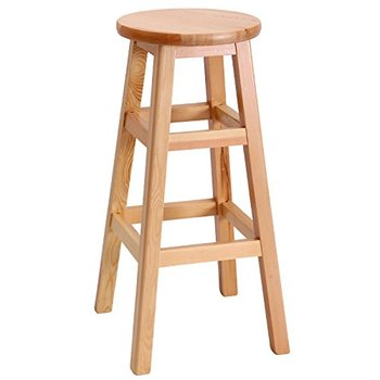 Modern New Design Solid Wood High Bar Stool Wooden Whole Customzied