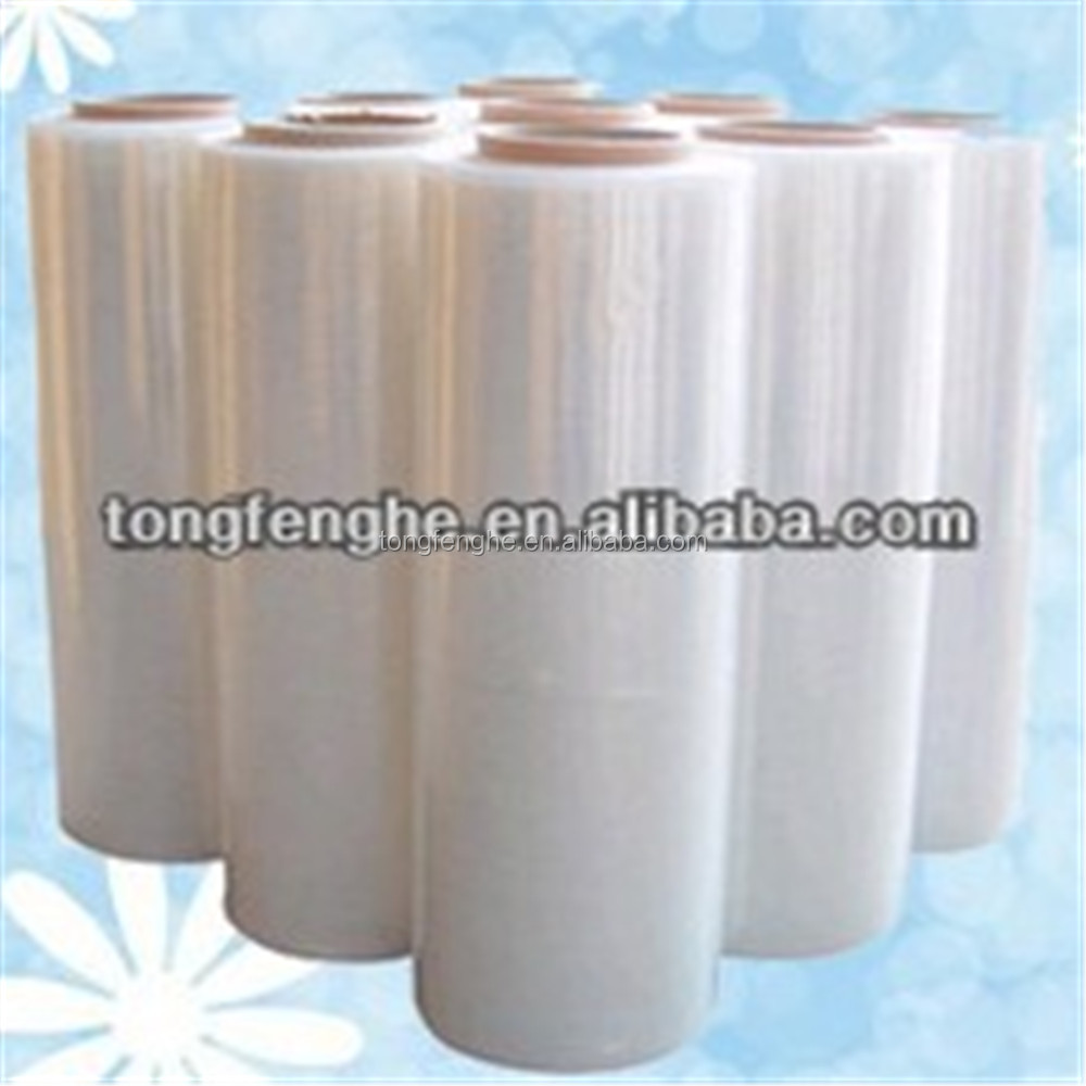10/12/15/20/23mic High Quality Stretch Wrapping Film Hot Plastic Film