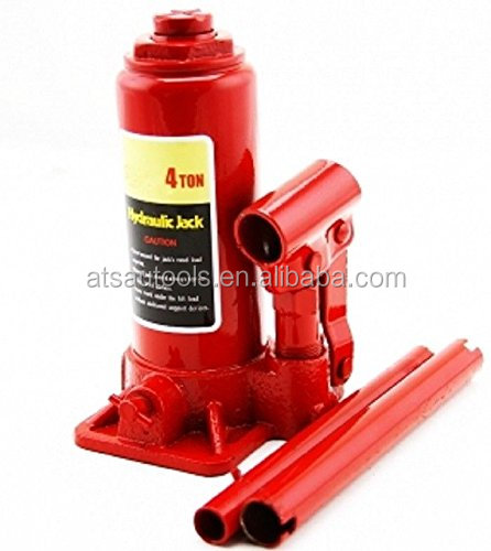 4T Garage car jack for workshop Hydraulic Bottle jack ,normal type,without safty valve