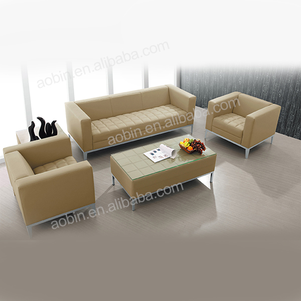 New Designs Office Leather Sofa Set