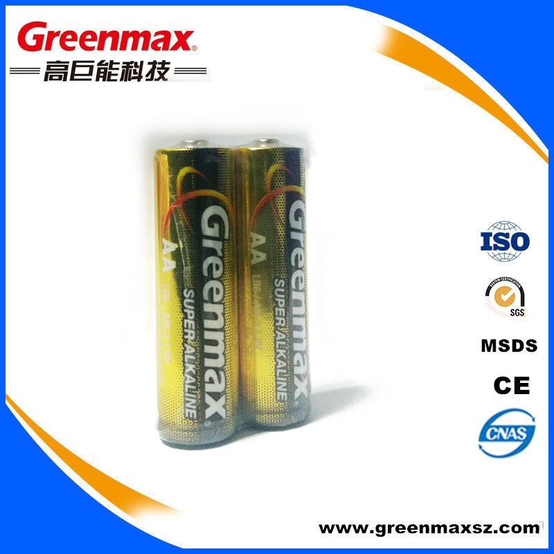 Custom logo powerful am3 lr6 aa alkaline battery