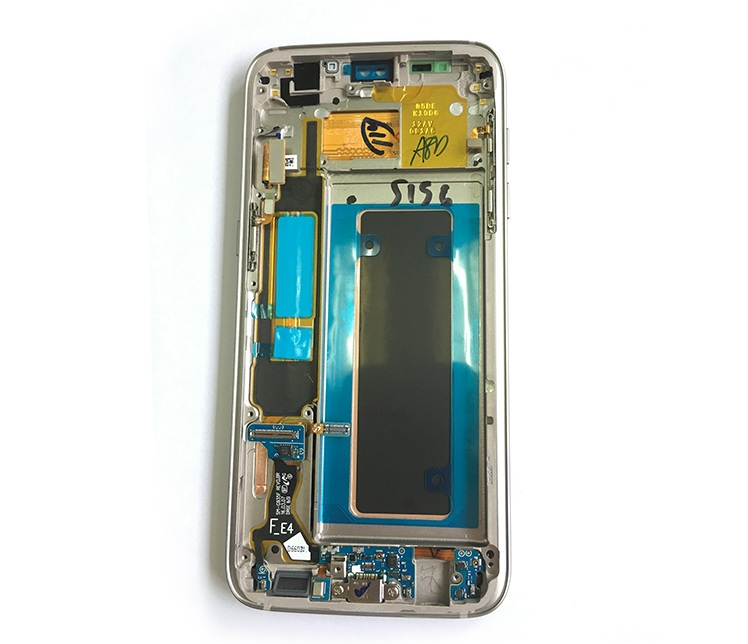 China mobile touch screen repair for Samsung S7 edge lcd screen wholesale