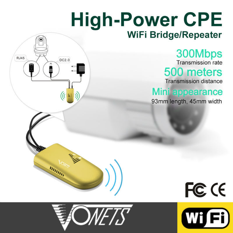 VONETS 500 Meters outdoor wifi repeater for factory wif