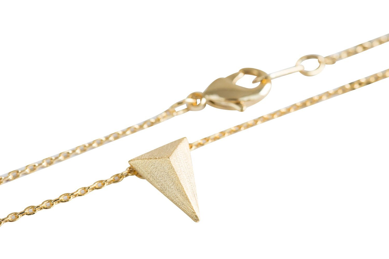 Solid Triangle Necklace-ma , triangle jewelry, triangle necklace, triangle shape jewelry, triangle shape necklace, triangle jewellry, geometric jewelr