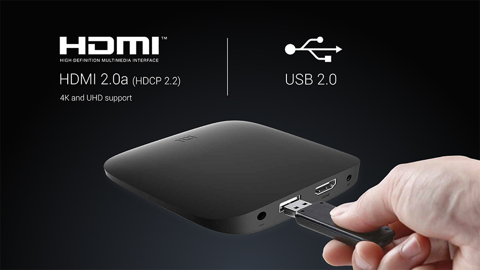 Originale Xiaomi Globale Internazionale Mi Box 3 Android TV Box Doppio di WiFi Smart TV IPTV Media Player Set Top Box supporto DTS Voce
