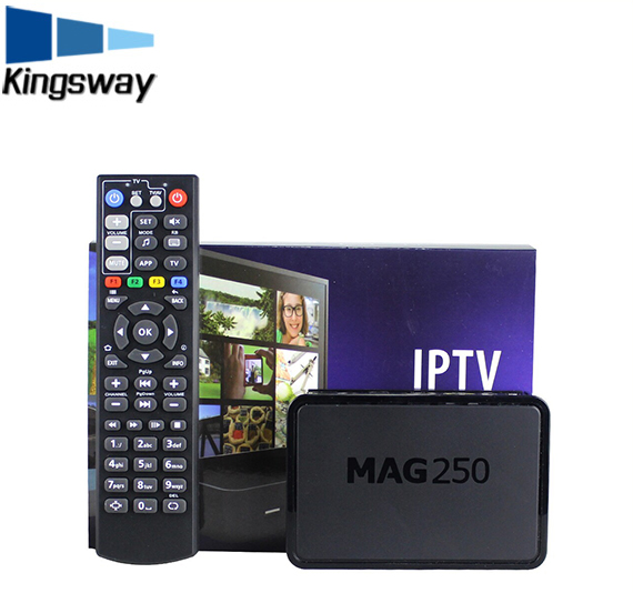 Best selling in the world mag 250 iptv free channels set top box with UK/USA/India channels iptv mag250 set top box