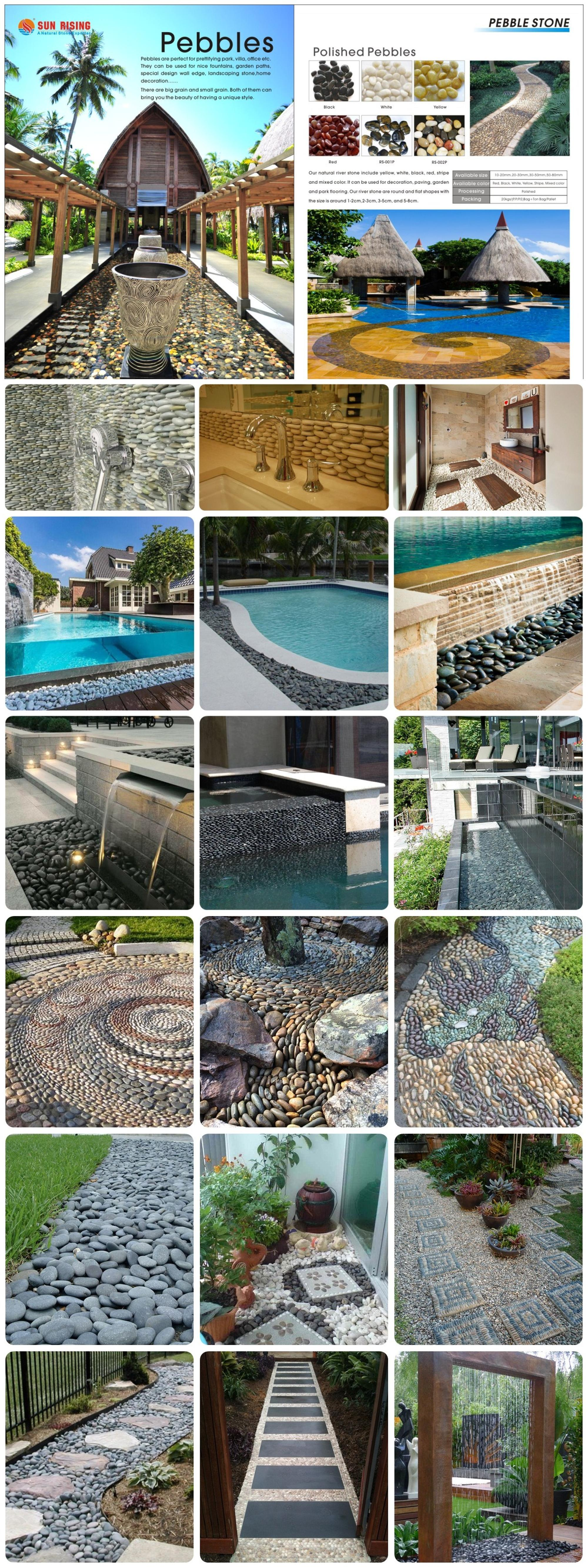 Stock Supply Large Size Natural River Rock Pebble Stone For Landscaping Buy River Pebble Stone River Pebble River Rock Stone Product On Alibaba Com