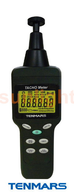 TM-4100D Tacho Meter with USB Datalogger