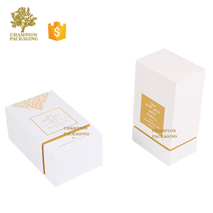 China Factory Price Handmade Empty Arabic Perfume Box with Customized Logo
