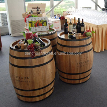 50 L Decoration With Oak Barrels Grape Wine Casks Red Oak Wine