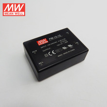 Mean Well 15W 12V AC/DC Module On Board Type Power Supply Medical Type Encapsulated Type Single Output PM-15-12