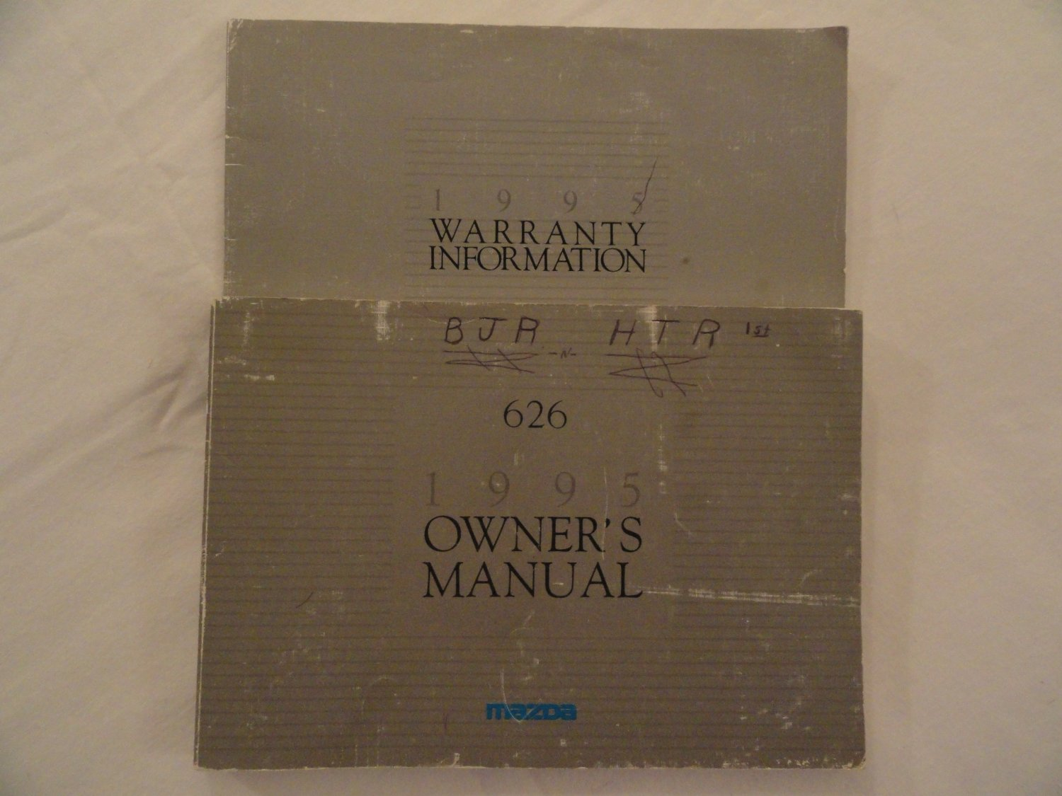 Get Quotations · 1995 Mazda 626 Owners Manual