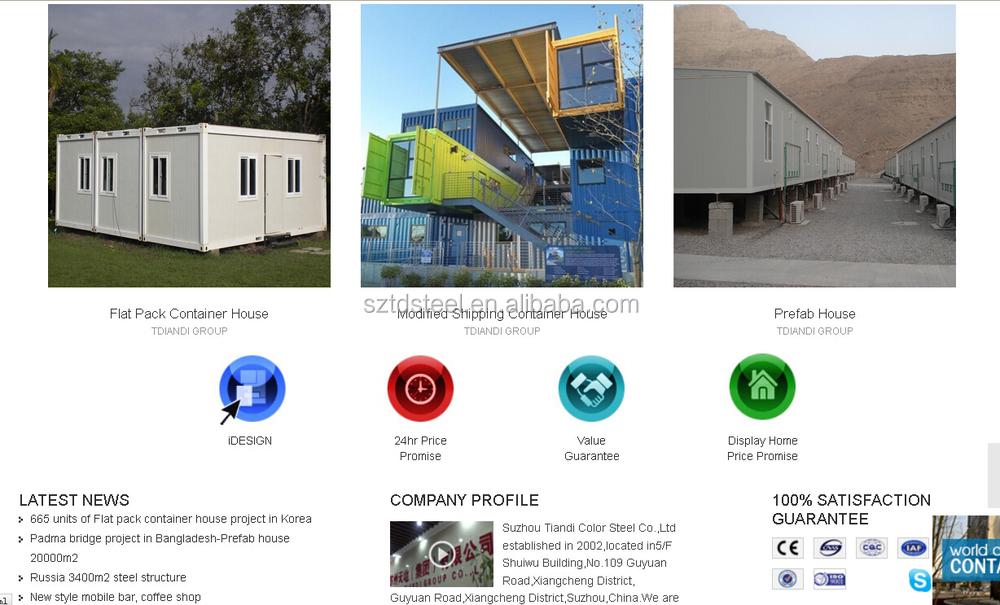 Multi function maison container buy maison container for Maison 6 container