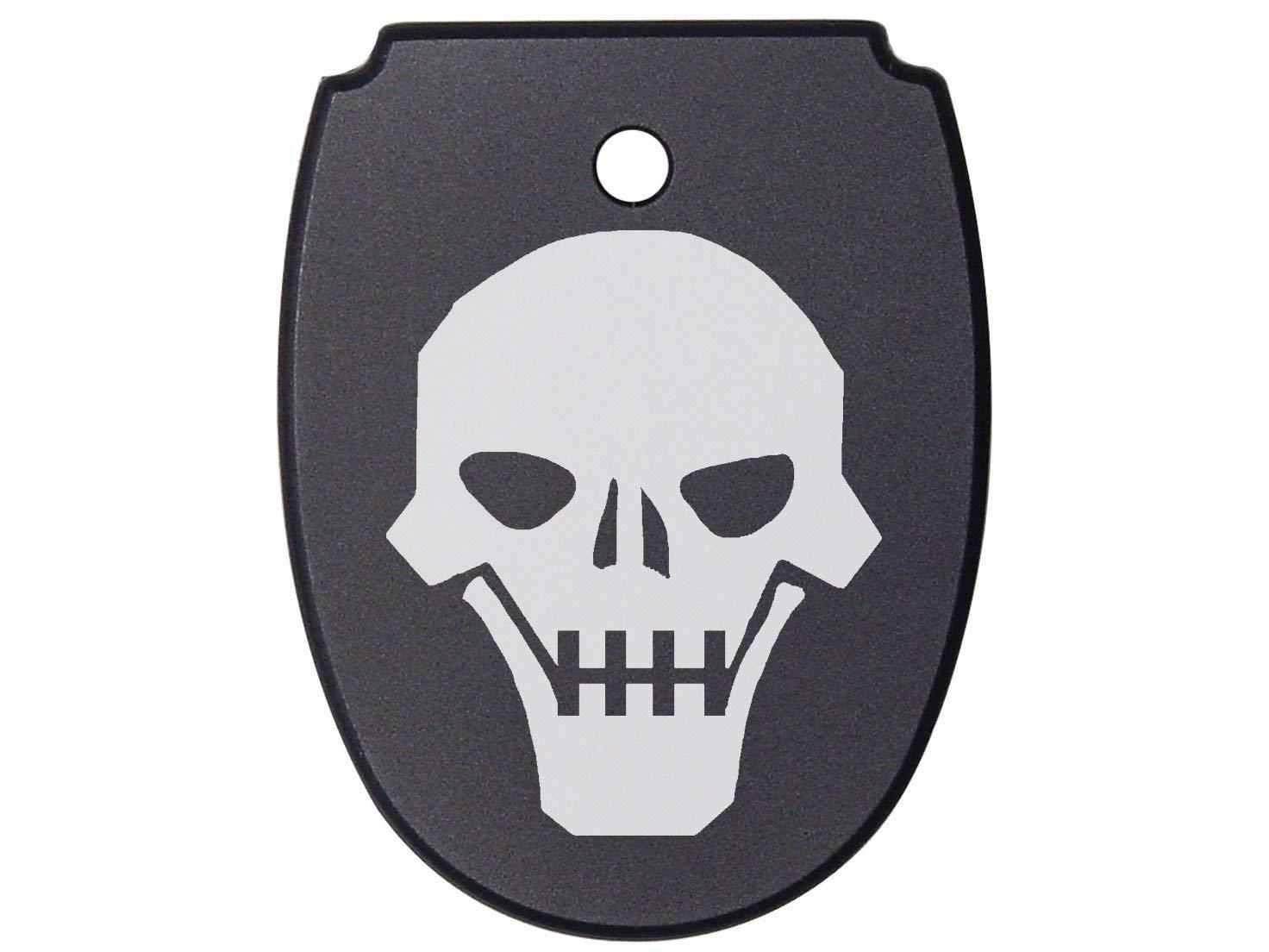 NDZ Performance For SIG SAUER P320 P250 Mag Plate Black 9mm .40 .357 Models NDZ Skull 9