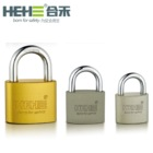 Top Security yellow Sliver Grey Paint Oval Iron Padlock with standard lock key