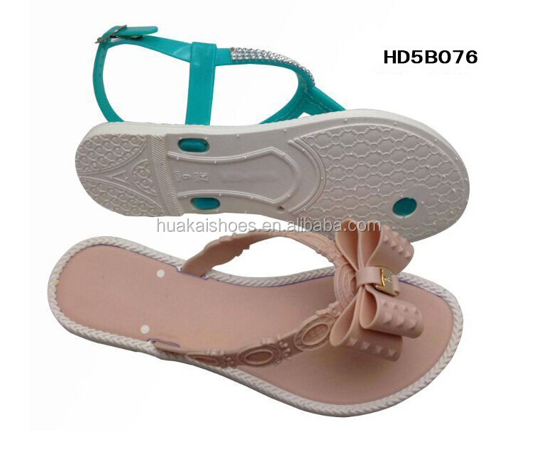 2015 New Collection Of Elegant Nice Girls Sandal Footwear,Ladies Flat Sandals Casual Summer Shoes, Outdoor Sandal Footwear