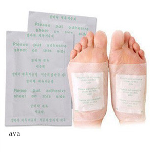 Recommend Hot Selling ! Chinese Herbal Personal Bamboo Vinegar Health Broadcast Detox Foot Patches
