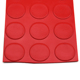 anti vibration coin pattern grip rubber sheet for airport flooring