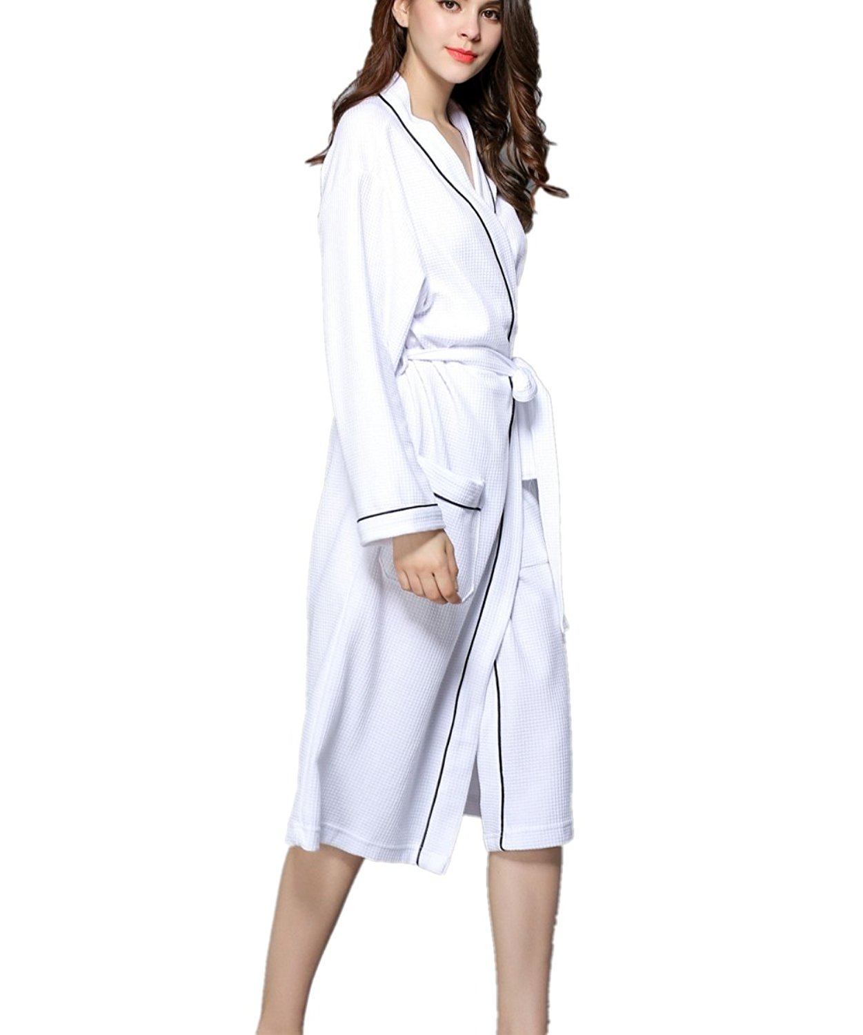 6667fd8fba Get Quotations · APXPF Women s Hotel Spa Collection Plush Robe
