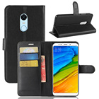 For Xiaomi Redmi Note 5 Cell Phone Case Holder Protection Case Mobile Phone Accessories PU Leather Wallet Silicone Case Capas