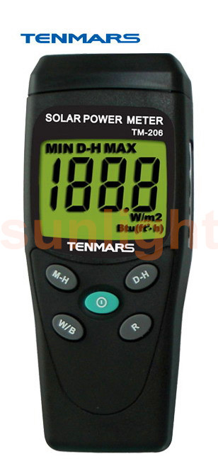 TM-206 Solar Power Meterr